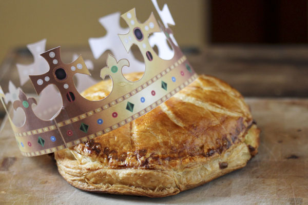 The final galette and crown
