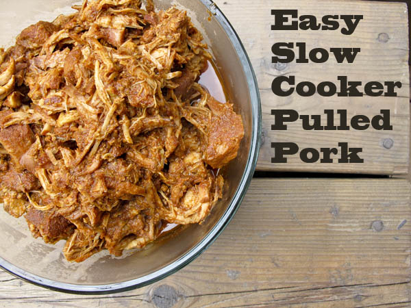Family Mealtime: Easy Slow Cooker Pulled Pork