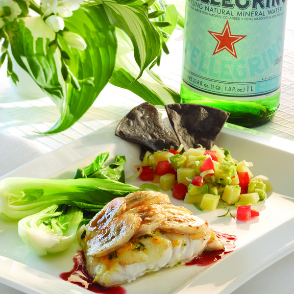 Grouper with SP bottle