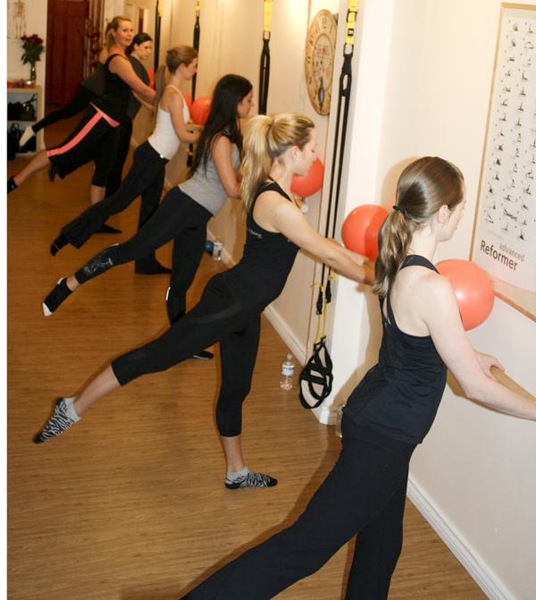 Ballet Barre at Dita Pilates