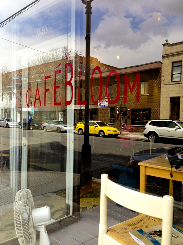 Cafe Bloom Outside