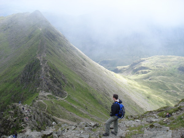 More Lake District & the climb up Helvellyn