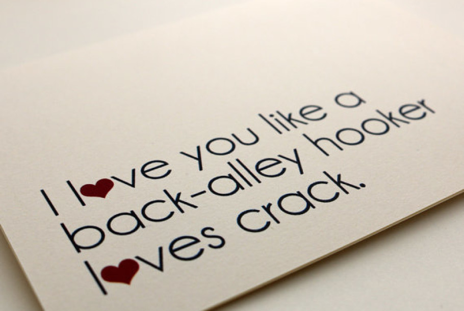 funny valentine s day cards on etsy roasted