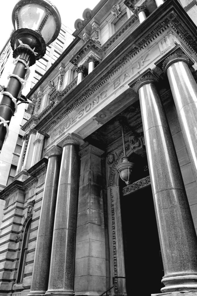 Old Montreal Molsons Bank
