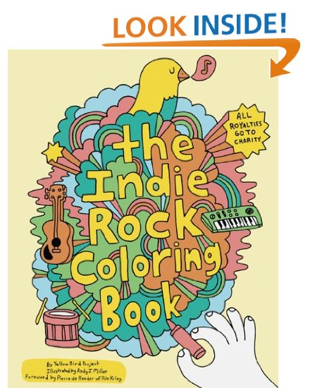 Indie Rock Colouring Book