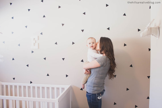 Mini Triangle Wall Decals By Urban Walls (Vancouver!)