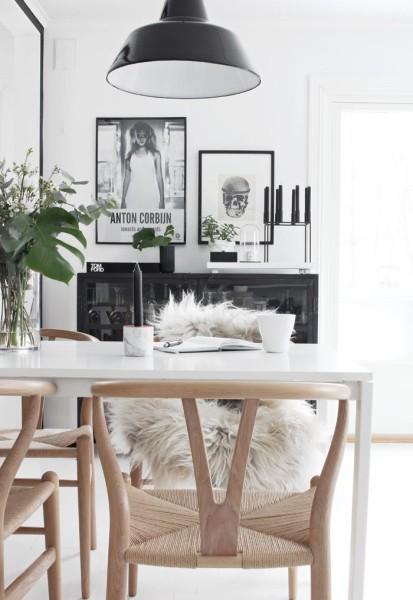 Inspiration Hans Wegner Ch24 Wishbone Chair Roasted