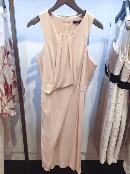 Karen Millen Pink Drape Dress