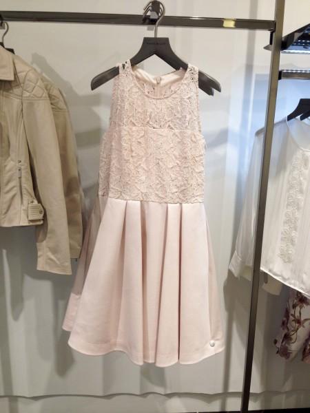 Karen Millen Pink Fit & Flare