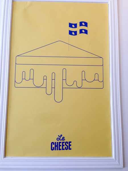 Le Cheese Poster
