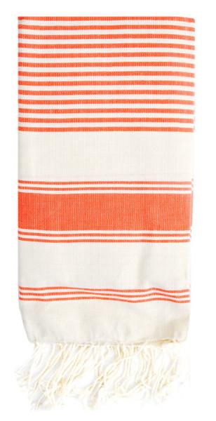 LEIF thin striped fouta towel