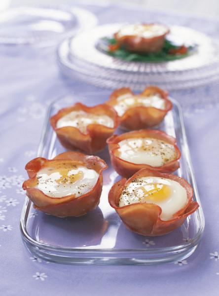 Egg & Ham cups
