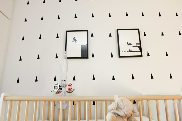 Black and White Nursery 3