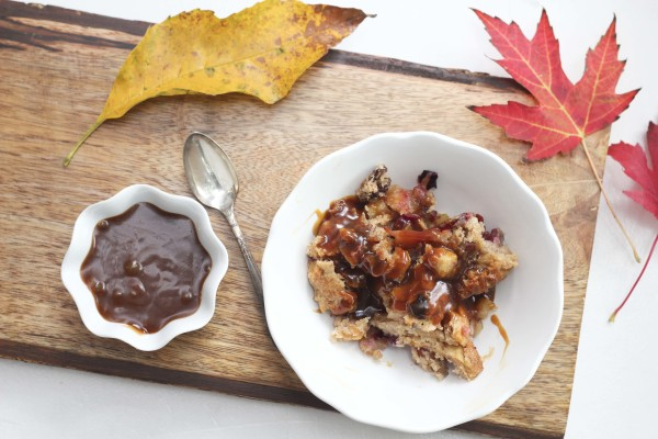 Apple & Plum Pudding