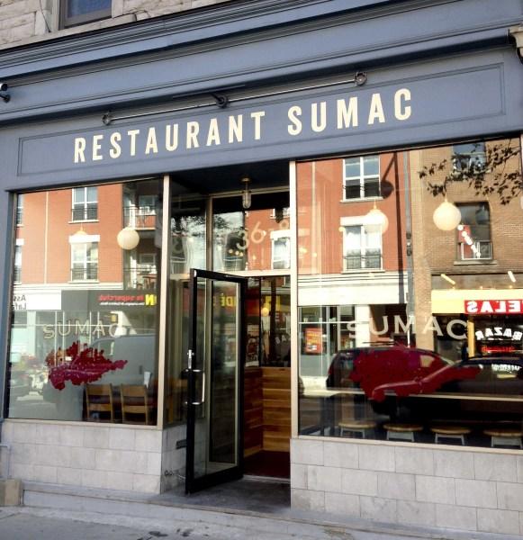 Restaurant Sumac Front