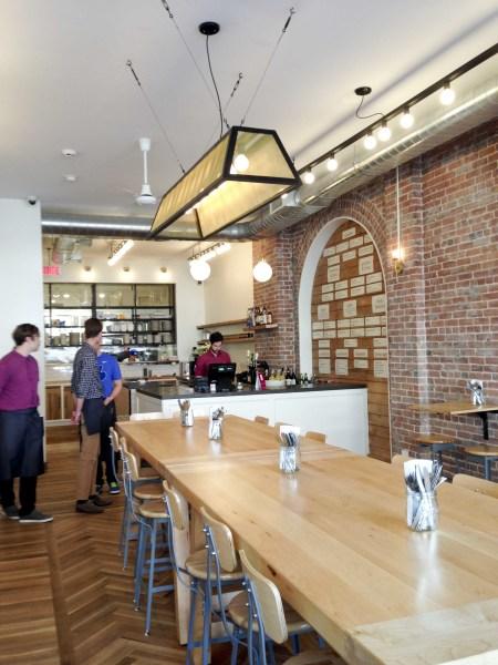 Restaurant Sumac Interior