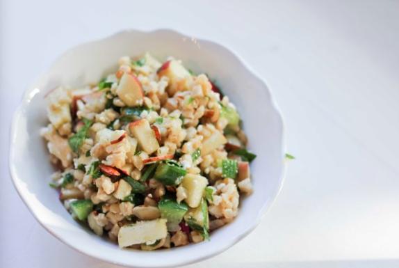 Wheatberry Tabbouleh Salad | www.roastedmontreal.com