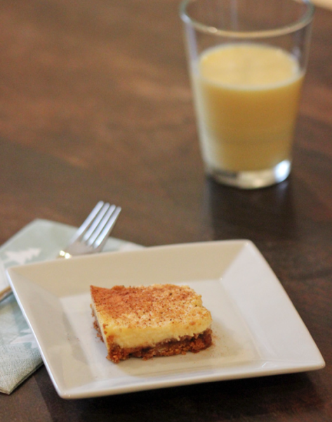 Eggnog Cheesecake | www.roastedmontreal.com