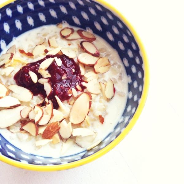 Barley Porridge   www.roastedmontreal.com #breakfast #grains #porridge