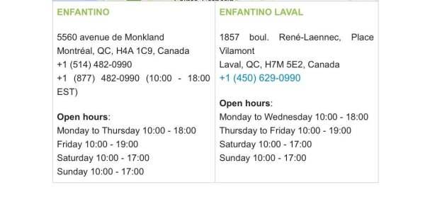 Enfantino Boutique | Montreal & Laval | enfantino.ca