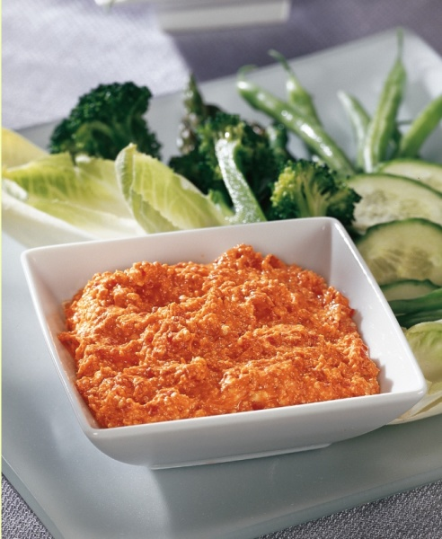 Feta Roasted Red Pepper Dip 150 Dips & Salsas