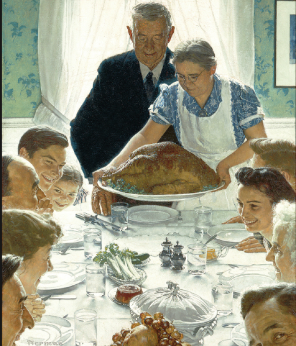 Norman Rockwell - Thanksgiving