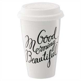 Good Morning Beautiful Travel Mug from Indigo