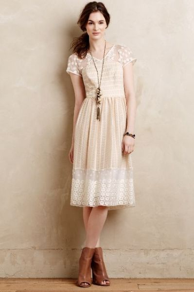 Poema Lace Dress from Anthropologie