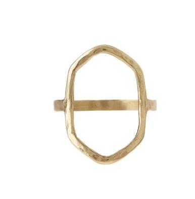 Tiffany Kunz - Medium Basel Ring in Bronze