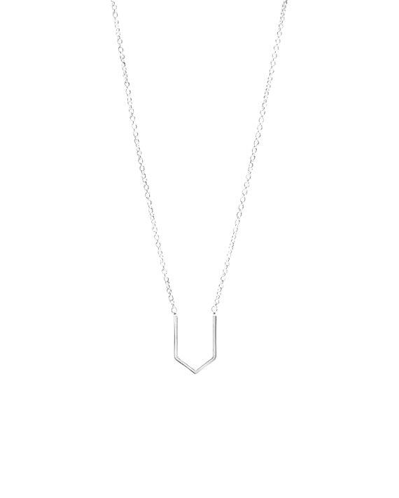 Silver Pointy Necklace | Maksym Joaillerie | RoastedMonteral.com