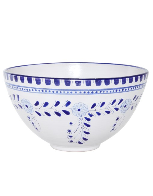 Floral Big Salad Bowl - The Little Market