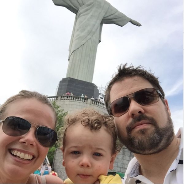 Travel with Toddlers: Melissa in Brazi