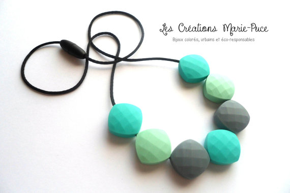 Teething Necklace from Créations Marie-Puce