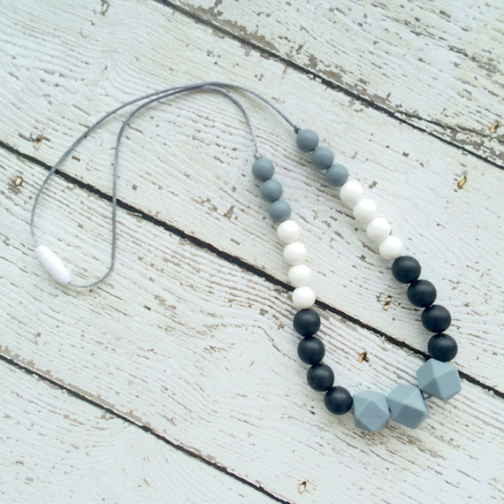 Silicone Teething Necklace from Sassy Stork Canada