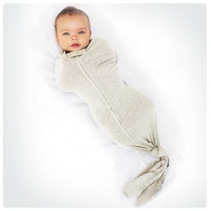 Woombie Organic Bamboo Mod Swaddle | Unisex Baby Gifts | RoastedMontreal.com