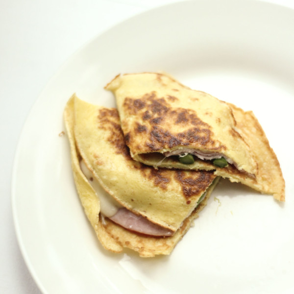 Crepes with Ham, Cheese & Asparagus | RoastedMontreal.com