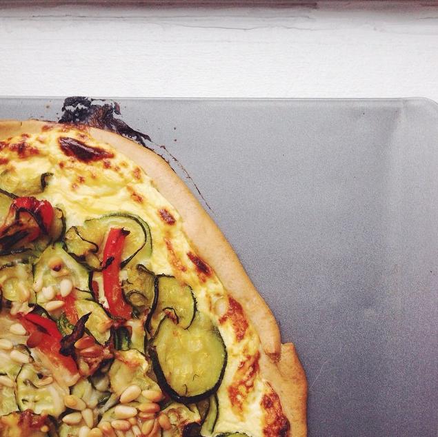 zucchini tart | RoastedMontreal.com