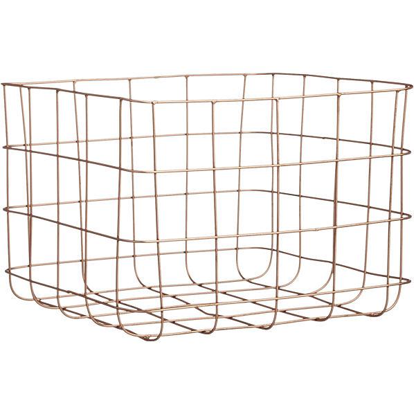 copper-wire-storage-basket