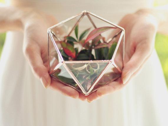Mini Geometric Terrarium by Waen