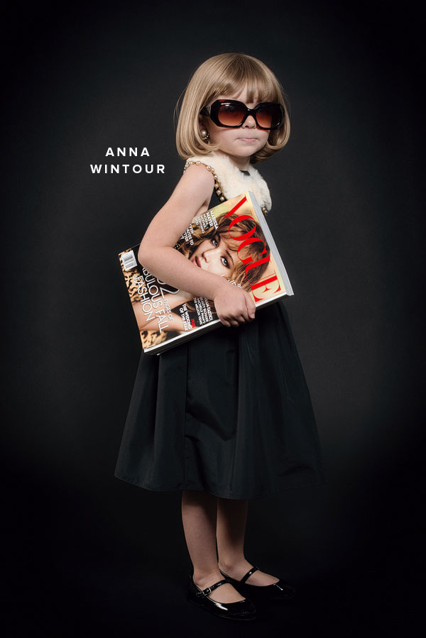 DIY Anna Wintour Costume from Oh Happy Day