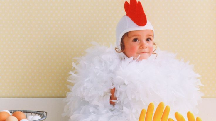 Baby Chicken Halloween Costume from Martha Stewart