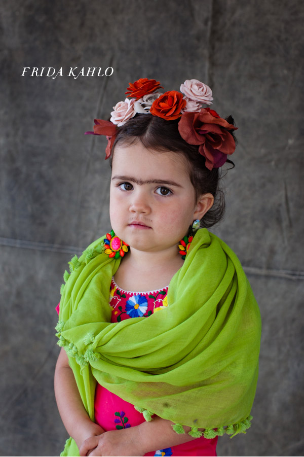 Frida Kahlo Costume from Oh Happy Day