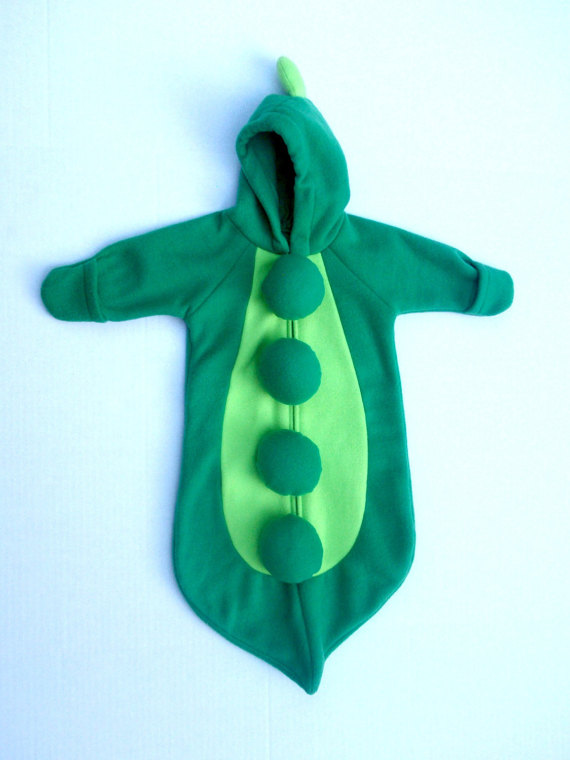 Sweet Pea Baby Halloween Costume from Aquaiguana