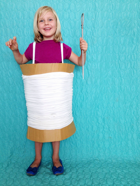 Thread and Needle Costume from Maker Mama