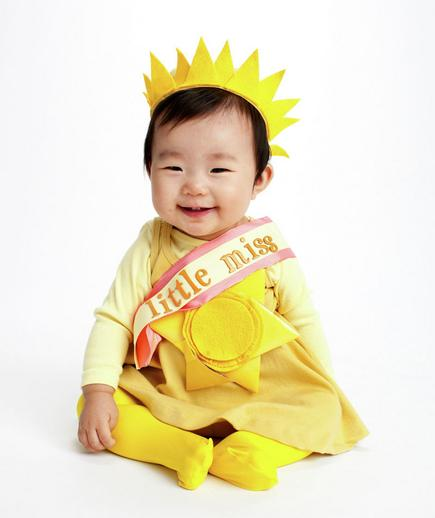 DIY Little Miss Sunshine Costume from Real Simple