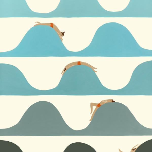 Art Print Flow by Laura George