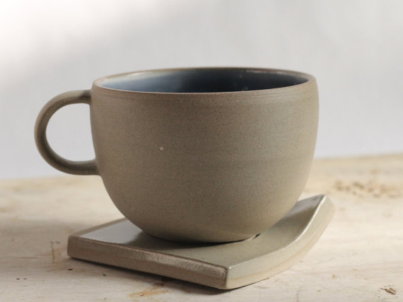 Porcelain Mug by MC Girard Ceramiste