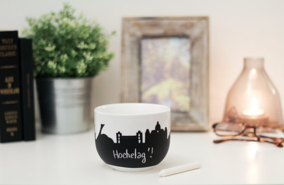 Hochelaga Montreal Mug by Alice in Montreal