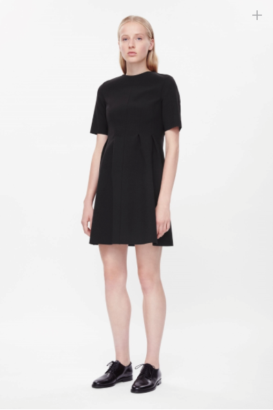 COS Fitted Waist Dress
