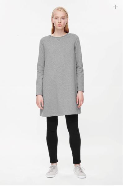 COS A-Line Sweatshirt Dress